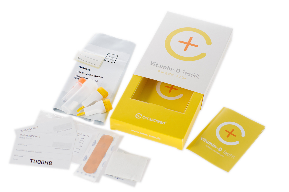 Vitamin D Test Familien Packung
