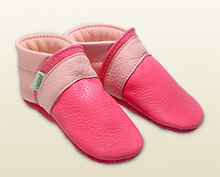 Babyschuhe -pink!/rosa Panther