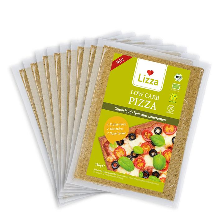 Lizza Low Carb Pizza 2 x  8 Stück
